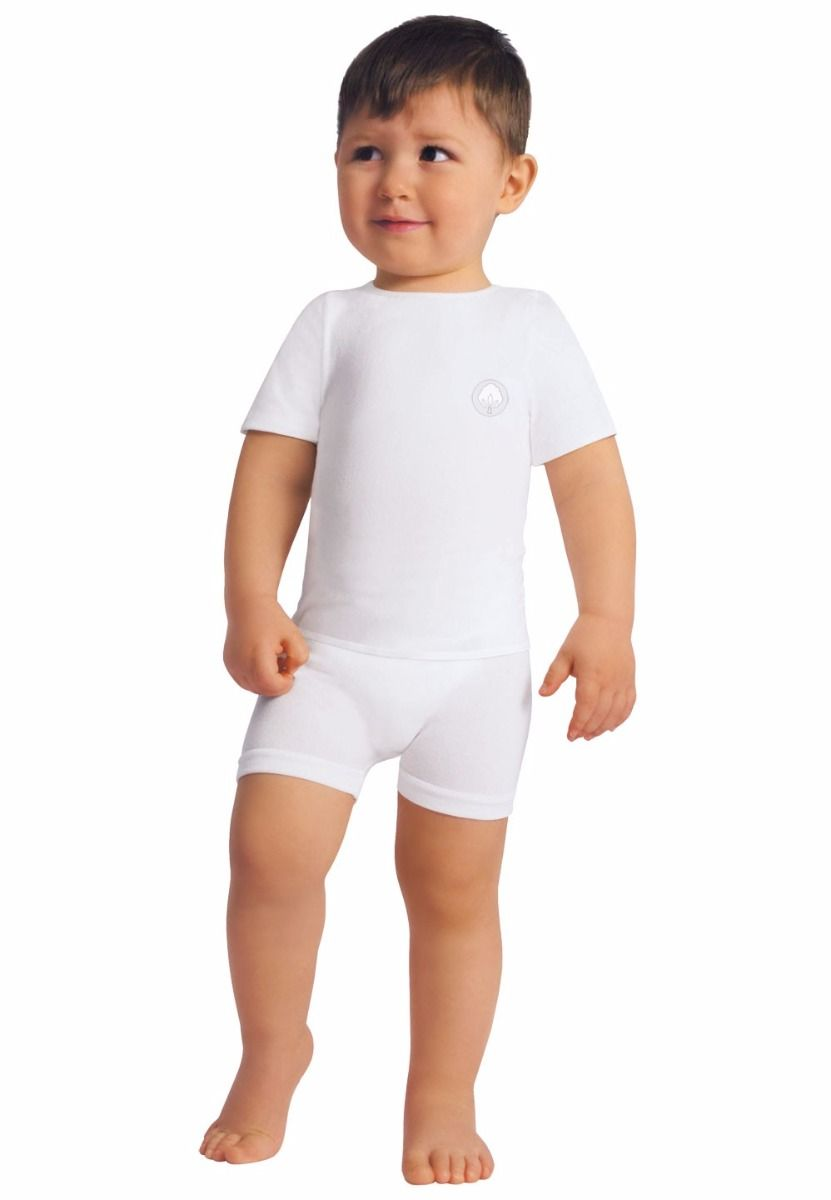 Toddler and Baby Cotton Short-Sleeved Top