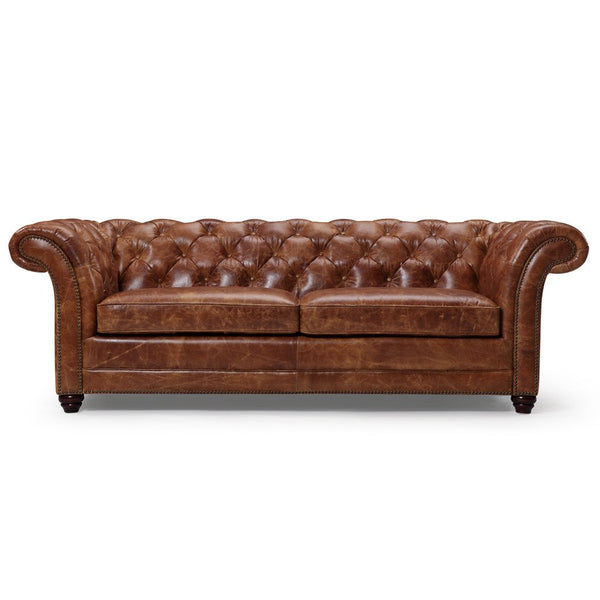 Westminster Chesterfield Leather Sofa - Kent & Ross