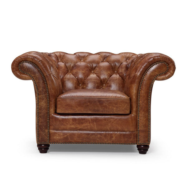 Westminster Chesterfield Leather Chair - Kent & Ross