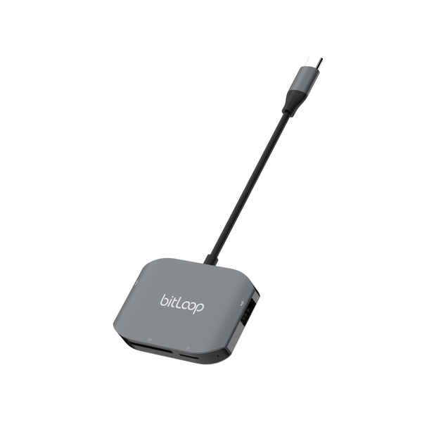 USB C - SD Card & USB Hub