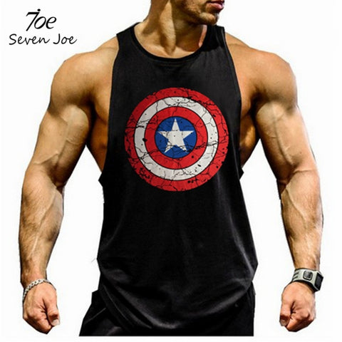 Men Undershirt Solid Tank Tops