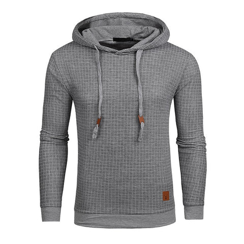 Drop Shipping Hoodies Men Long Sleeve Solid Color Hooded Sweatshirt Male Hoodie Casual Sportswear US Size Free Shipping