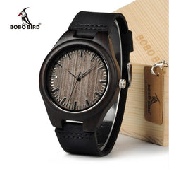 BOBO BIRD Cheap Watch Men Quartz Wooden WristWatches masculinos relogios in Gift Box custom logo