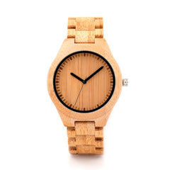 BOBO BIRD Wooden Watch Men relogio masculino Timepieces Japan Movt 2035 Quartz Watches Special for Drop Shipping - Big Deal Cartel