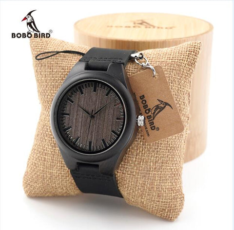 BOBO BIRD Cheap Watch Men Quartz Wooden WristWatches masculinos relogios in Gift Box custom logo - Big Deal Cartel