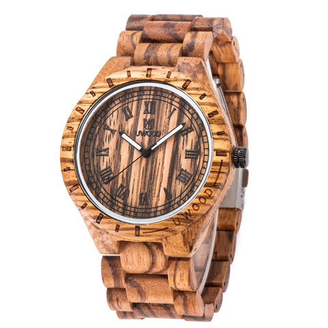 Wood Watch Men Date Luxury Brand Sport Male Wooden Band Wristwatches Male Clock Quartz  Watches Relogio Sale