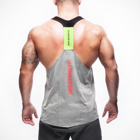 2017 summer brand clothing  Mens Tank Tops Stringer Bodybuilding Fitness absorb sweat breathe freely Men Tanks Clothes Singlets. - Big Deal Cartel