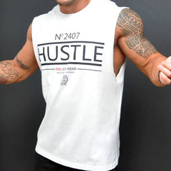 Man Gyms Fitness Bodybuilding Sleeveless Shirt