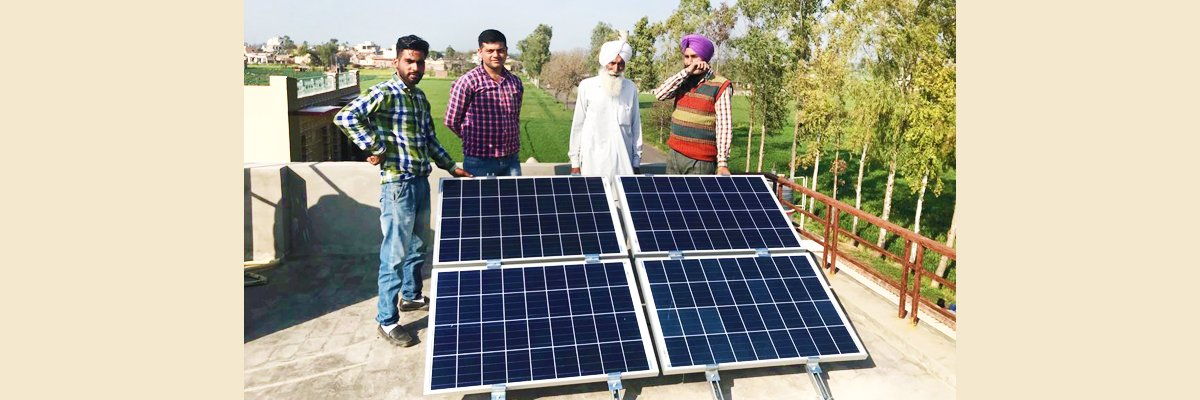 Alternative Power For Senior Citizen - Solar Energy