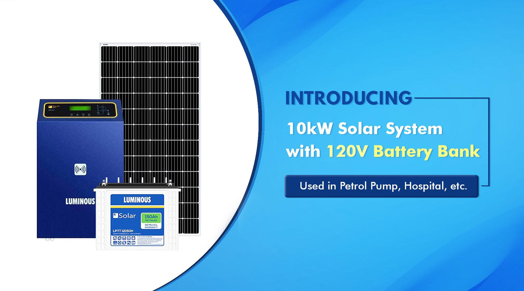10kW Solar System price in India 2021