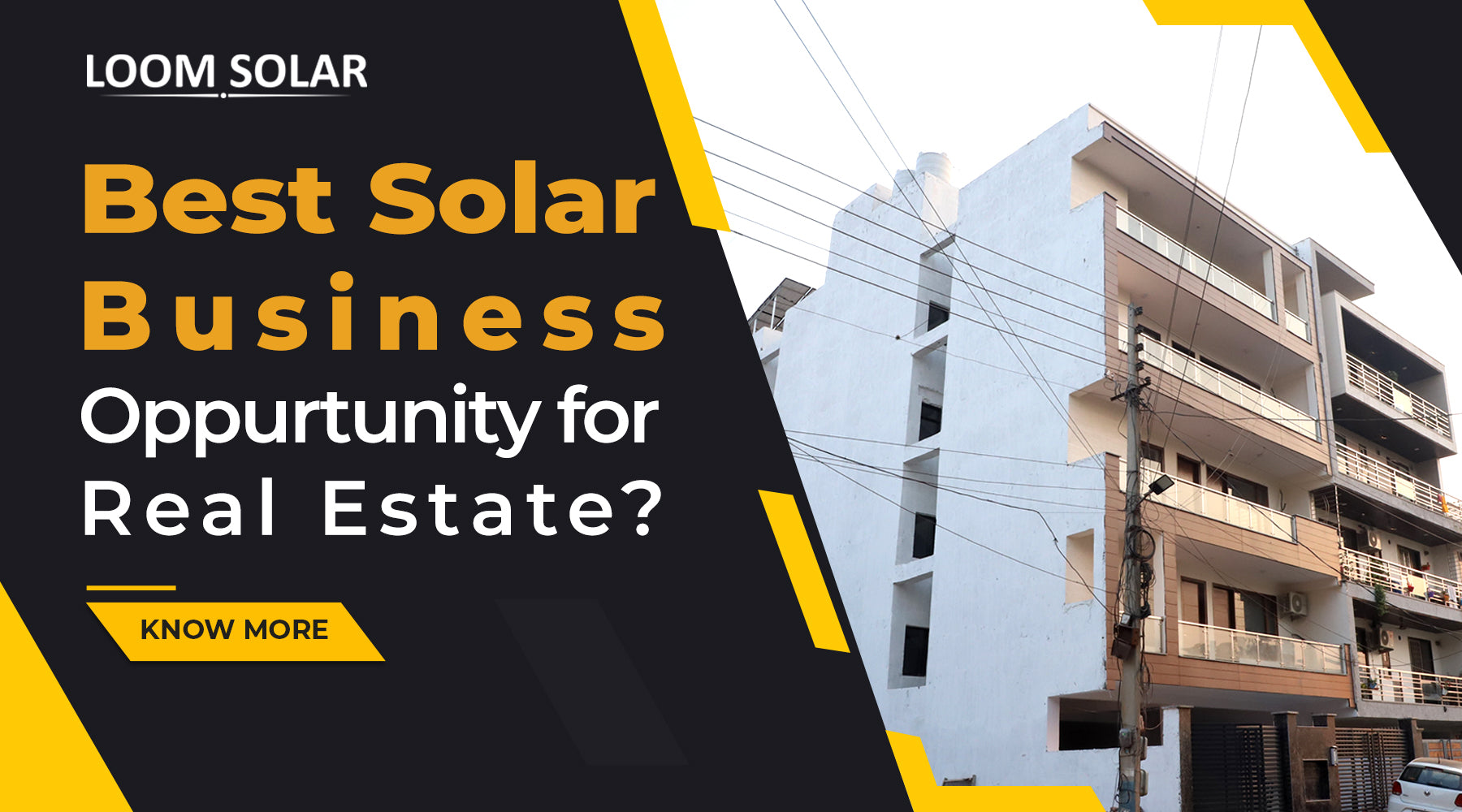 Top 3 Business Opportunity in Solar for Real Estate?