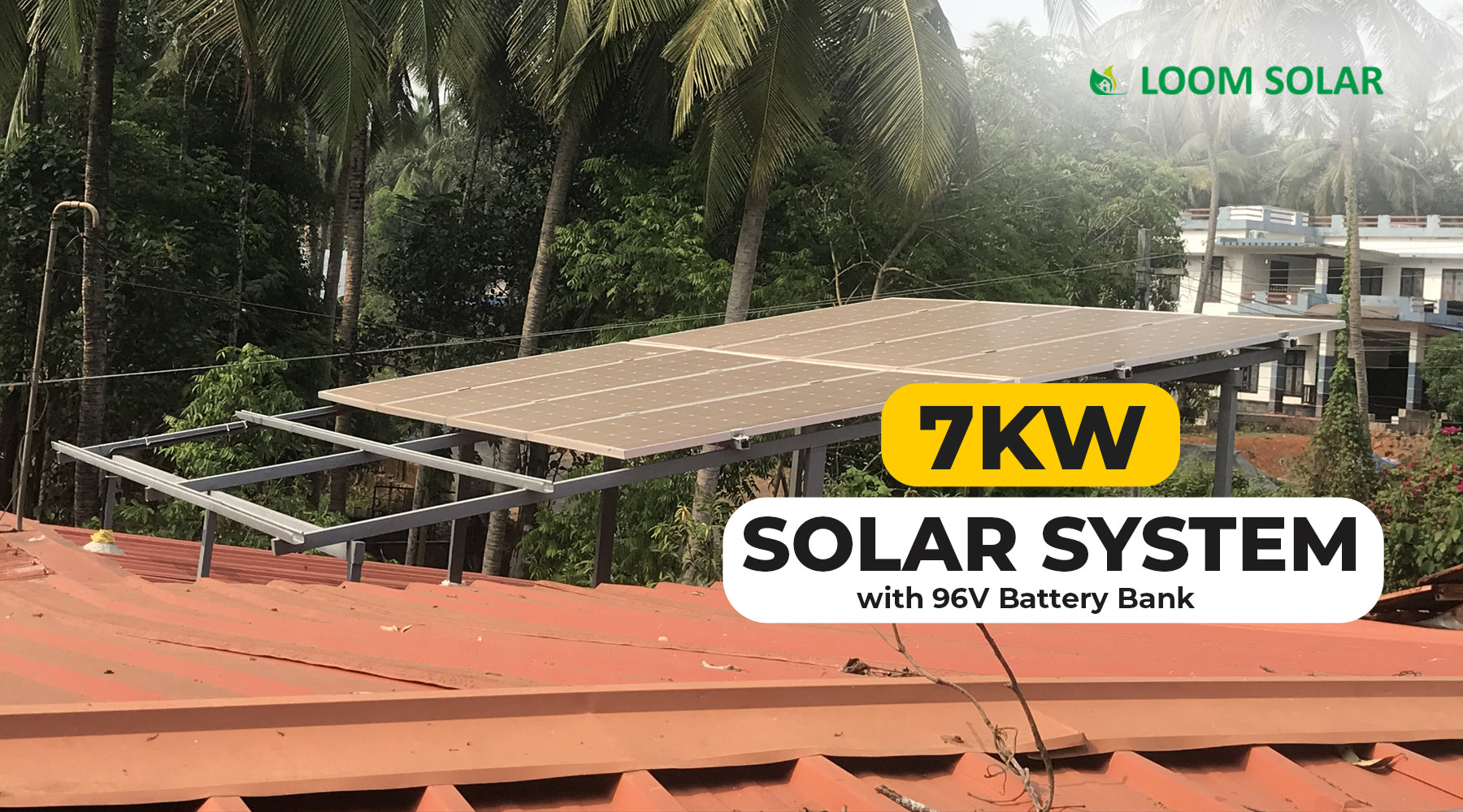 7kW Off Grid Solar System Price in India, 2021