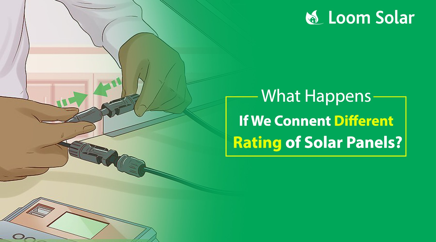 Connecting Different Rating of Solar Panels?