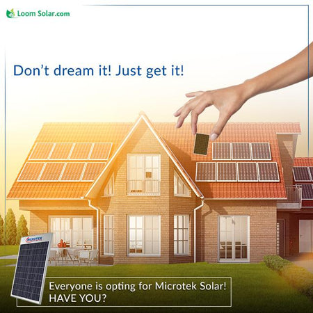 Where to Buy Microtek Solar Product Online - A big push for solar rooftops