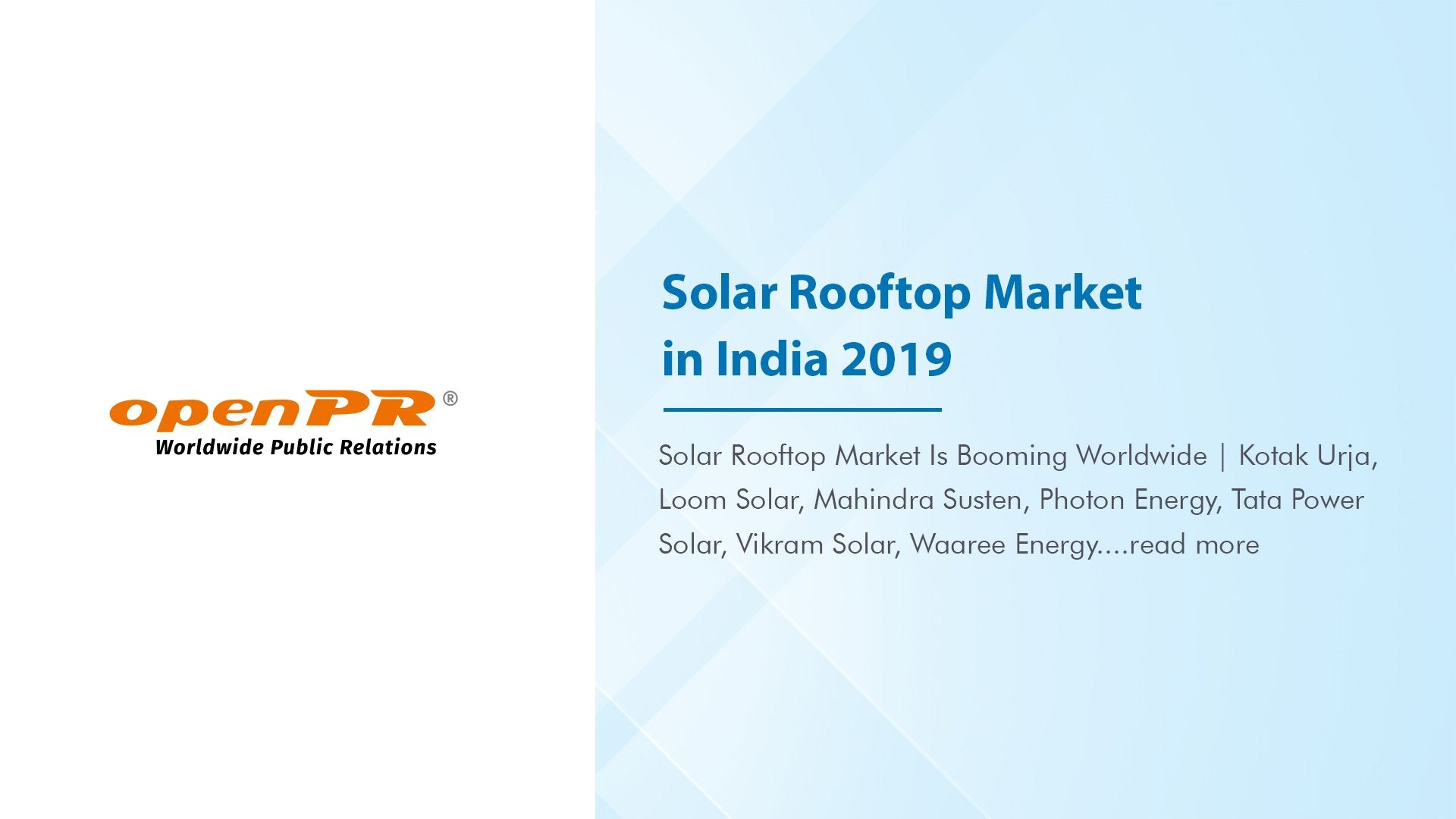 Solar Rooftop Market in India 2021