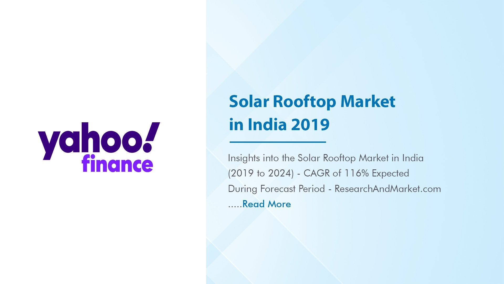 Insights into the Solar Rooftop Market in India (2019 to 2024)