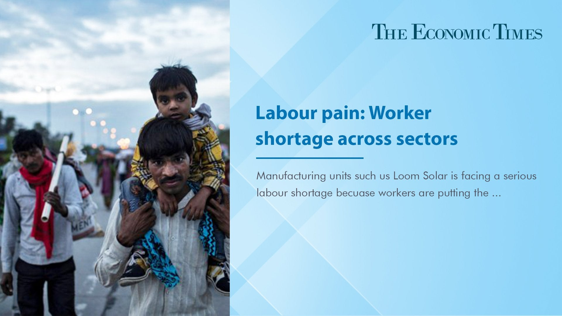 Labour pain: Worker shortage across sectors