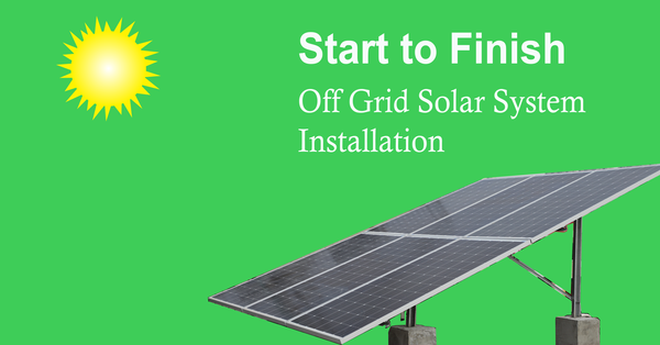 7 Steps How to Install Solar Panel: Step-by-Step Guide with Images & Video