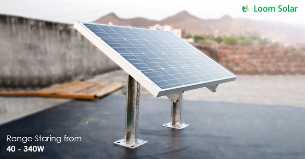 loom solar mounting structure range