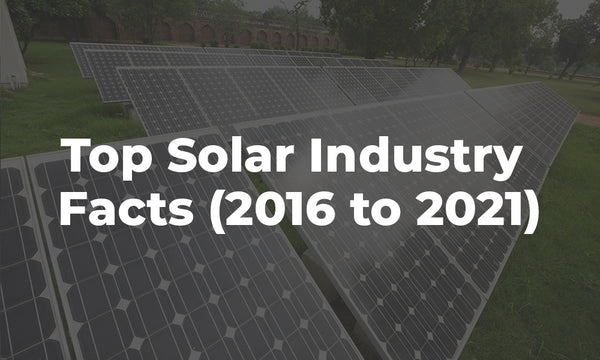 top solar industry facts