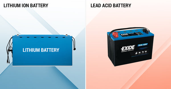 How does Lithium Battery differ from Lead Acid Battery?
