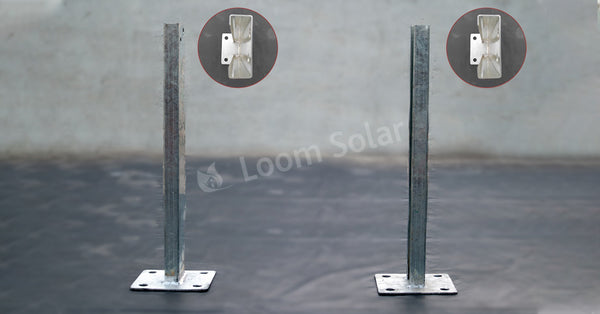 loom solar front or small legs