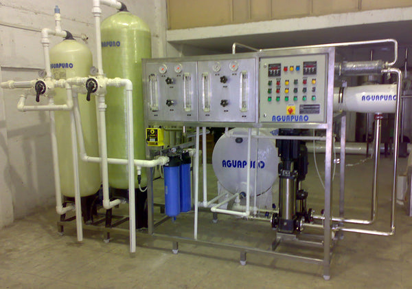 commercial R.O. Water plant