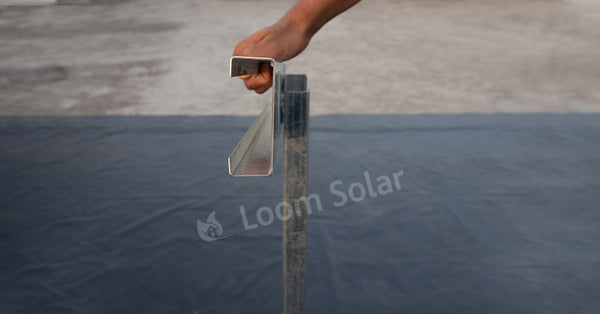 loom solar channels for solar stands
