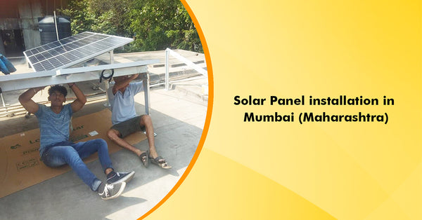 solar panel installation in maharastra