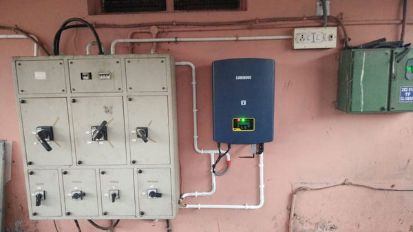 Loom Solar wiring of solar in Virudhnagar