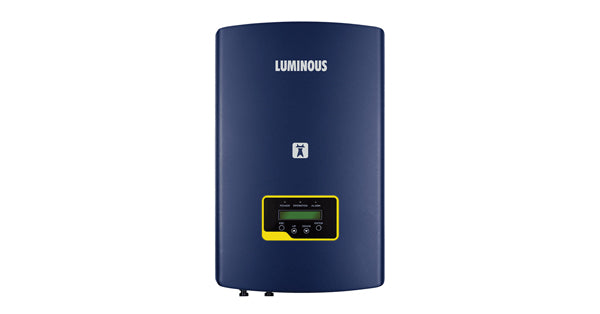 3kw luminous on grid solar price in india