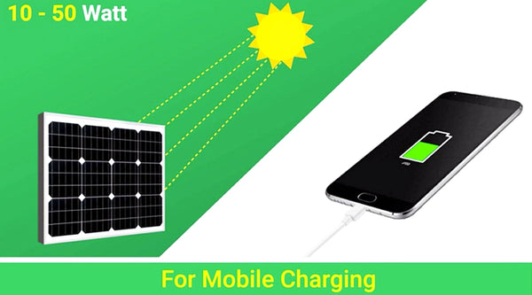 solar panel for mobile charging