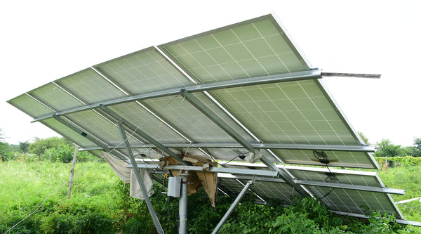 solar panel stand for water pump