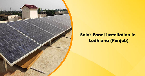 5kW On Grid Solar System Installation in Ludhiana, Punjab