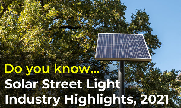 solar street light highlights