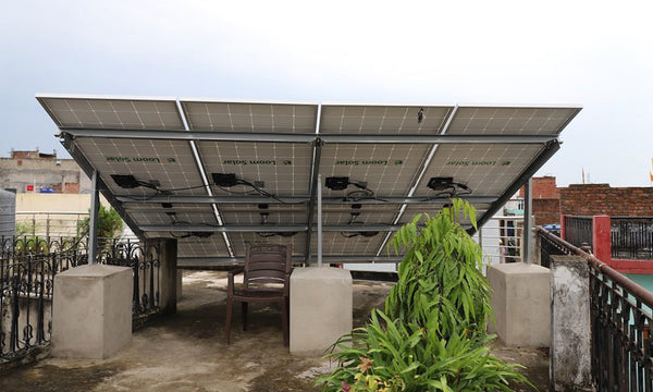 strong solar panel stand frame
