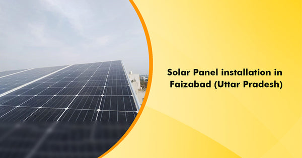 10kW Mono Panel installation in Faizabad, Uttar Pradesh