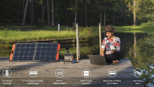 features of solar generator