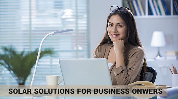solar solutions for business onwers