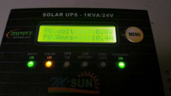 Digital Display of loom solar inverter