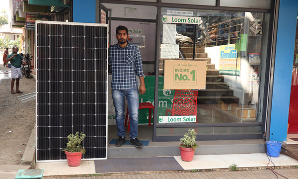 solar panel shop in kanpur
