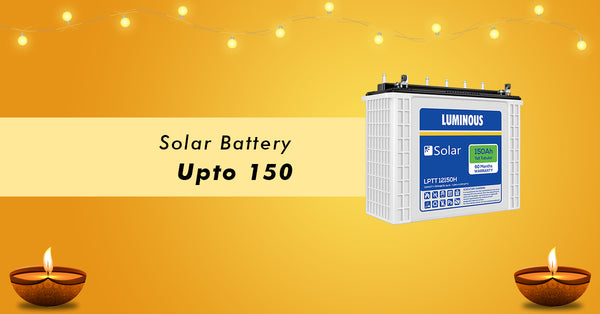 solar battery offer in dewali