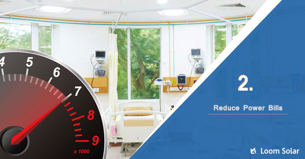 Reduce Power Bills in hospital