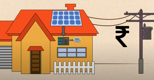 1kw on grid solar system price in india