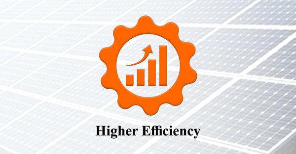 higher efficiency solar panels in india