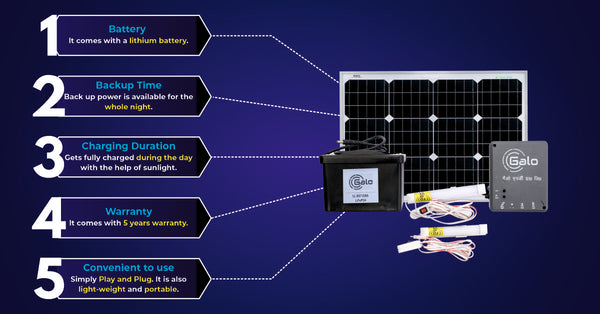 why loom solar mini home lighting system