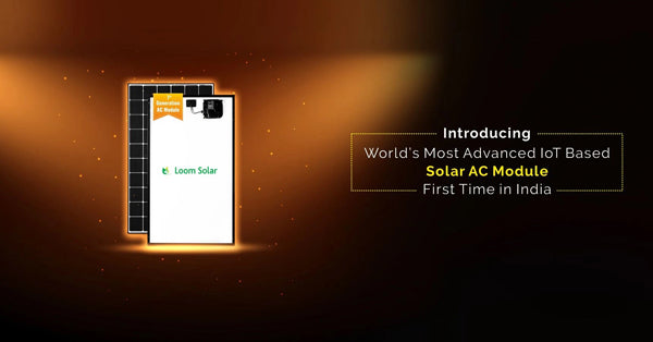 3kW loom solar ac module price in india