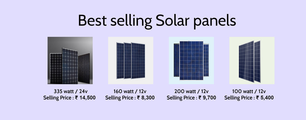 Best solar panels in India at Loom Solar