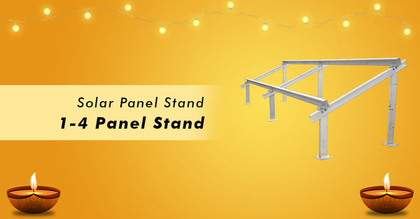 solar panel stand offer in dewali