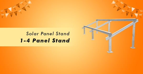solar panel stand offer on loom solar